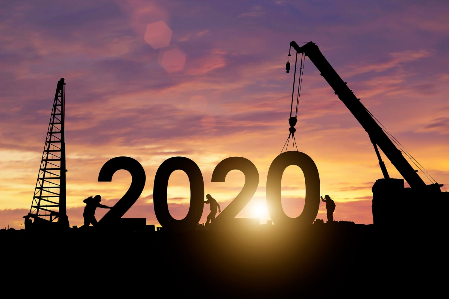 Payroll Workers adjust 2020 Sign